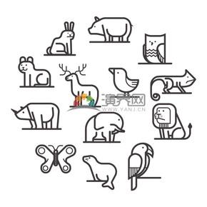 線性動物素材合集