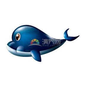 卡通動物海豚素材