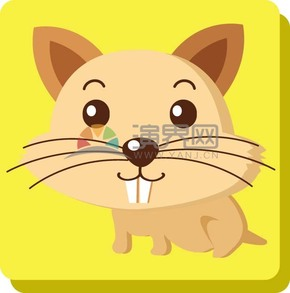 卡通动物可爱老鼠