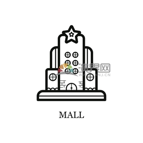 卡通購物中心創意設計