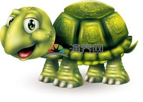 卡通精美動物烏龜素材