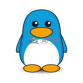 卡通小企鹅样式