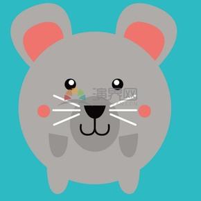 大老鼠矢量卡通素材