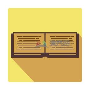 黃色書本卡通創意設計