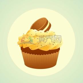 卡通饼干蛋糕点心下午茶