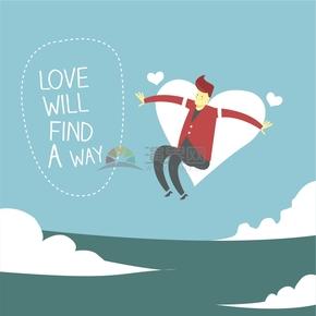 清新簡約趣味鼓勵愛傳遞愛心宣布語