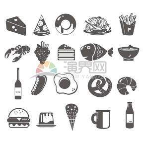 面性食物素材合集