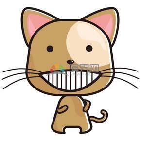 卡通小猫样式素材
