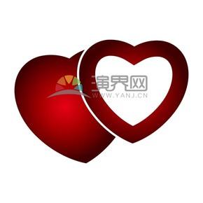 爱情情人节表白爱心