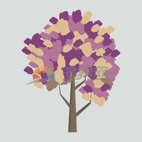 树木矢量图片
