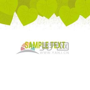 綠色樹葉背景