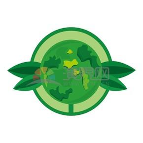 环保节绿色矢量素材