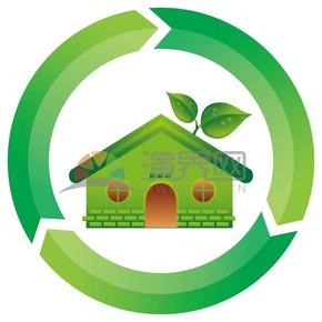 绿色建筑矢量素材