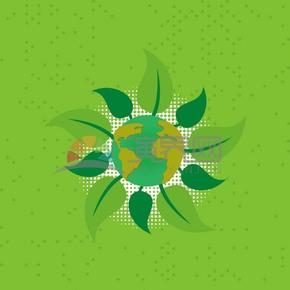 地球环保矢量素材