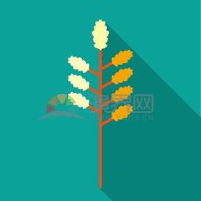 树木矢量素材