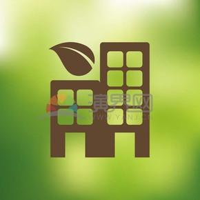 绿色创意图标