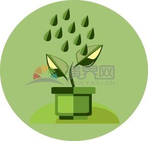 绿色抽象矢量素材