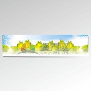 綠色樹葉背景素材