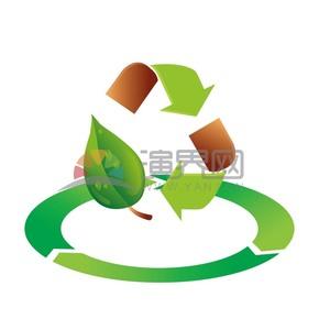 绿色循环矢量素材