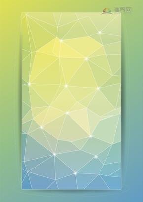 颜色透明曝光扩散模糊线条黄绿色调