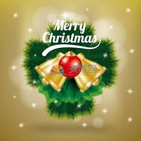 圣诞节铃铛素材