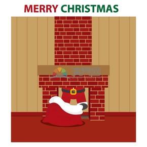 创意圣诞节插图