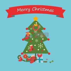 圣诞树矢量素材