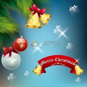 圣誕節日背景素材