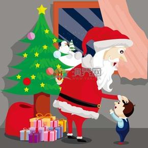 送礼物的圣诞老人