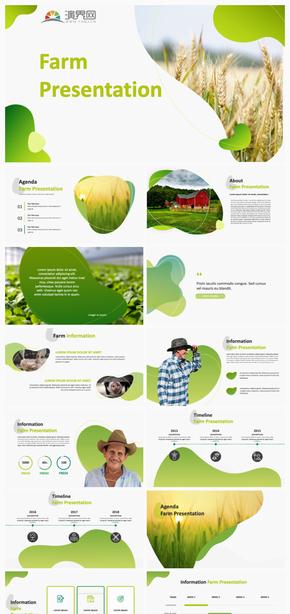绿色的环保自然农场介绍