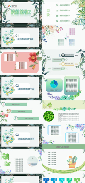清新植物2