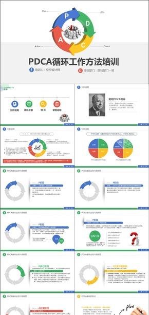 PDCA循环管理商务培训PPT