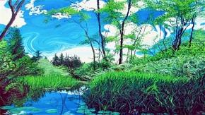 自然景色的艺术化