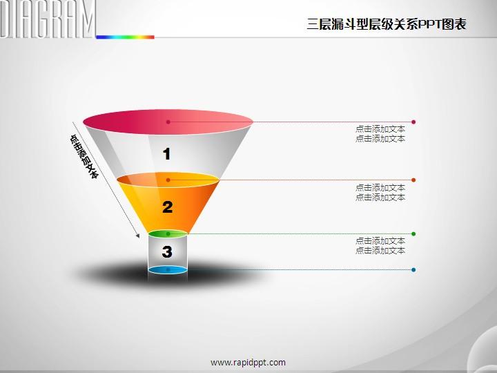 层级关系ppt图表