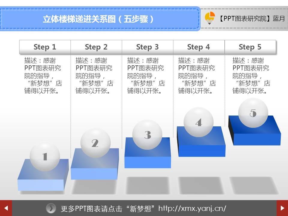 064立体楼梯递进关系图(五步骤)