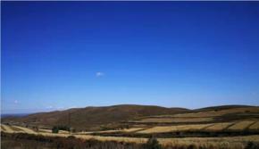 藍色秋野-草原天路