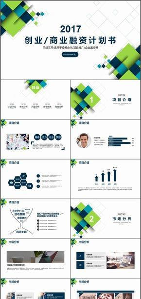 多色彩创业商业项目融资计划书