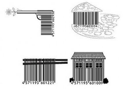 【演界信息图表】黑白简约-创意条形码