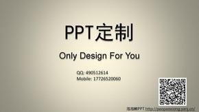【泡泡熊PPT】PPT定制&美化