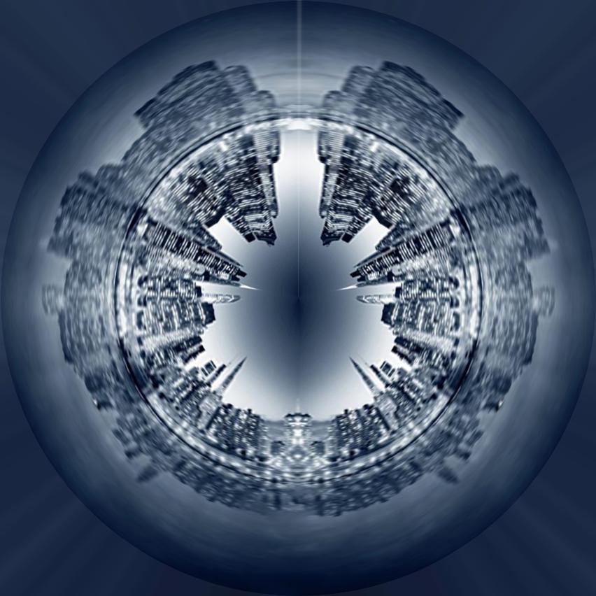 【极坐标图片素材】【ps作品】极坐标建筑下载–演界网