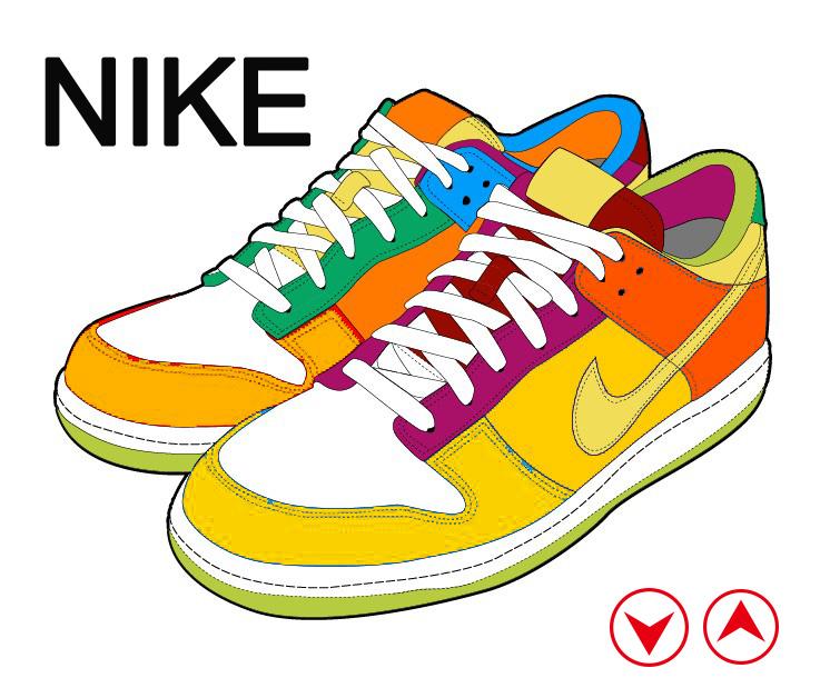 彩色鞋子下载–演界网
