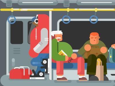 【顶级设计图】 扁平化地铁 - 演界网,中国首家演示