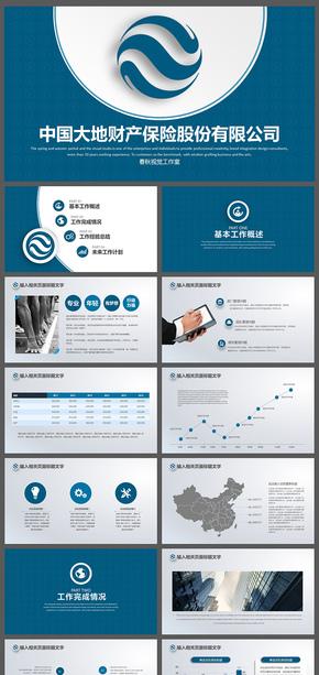大地保险金融理财战略发展团队规划ppt