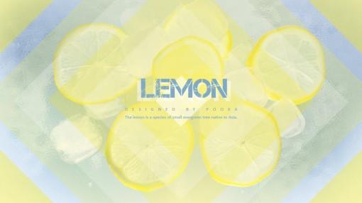 【卜咔出品】夏日清凉系列模板——柠檬味的夏天