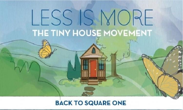 【演界信息圖表】扁平卡通-少即是多的小房子運動