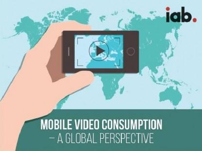 【演界信息图表】扁平多彩-消费者的移动视频观看