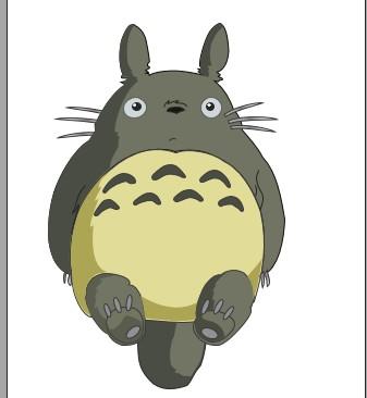 陈老二鼠绘之龙猫图片