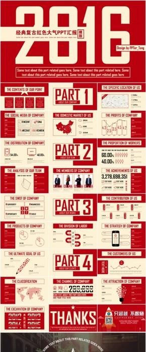 【皮特糖】大气简洁欧美杂志风格PPT汇报模板5套合集《优惠促销》