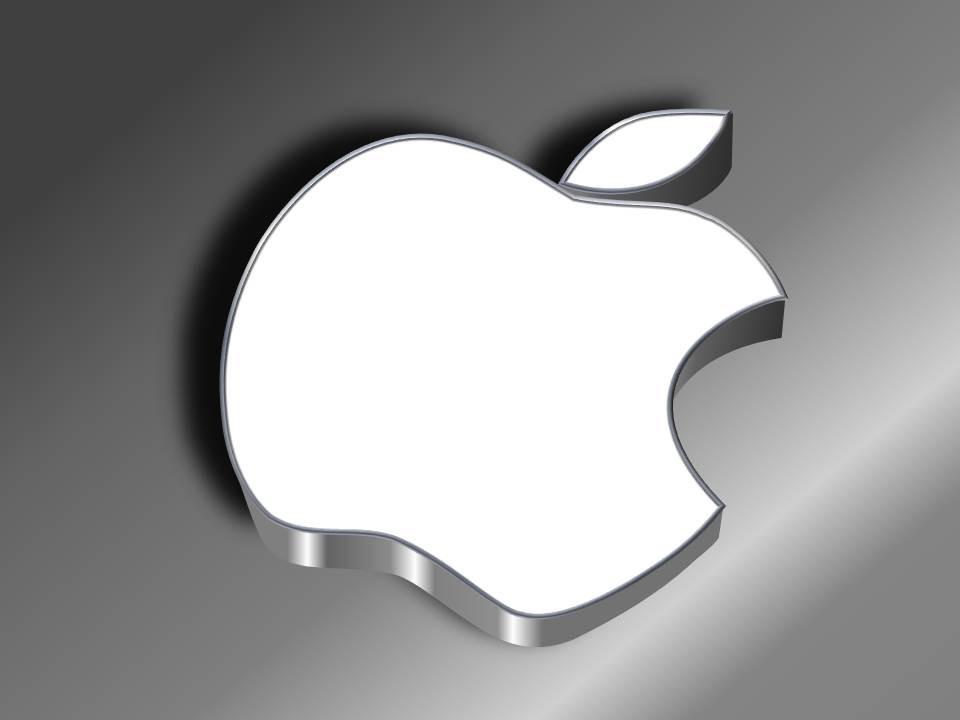 纯ppt手绘质感苹果图标