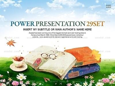 读书的季节套装_2332672 - 演界网,中国首家演示设计